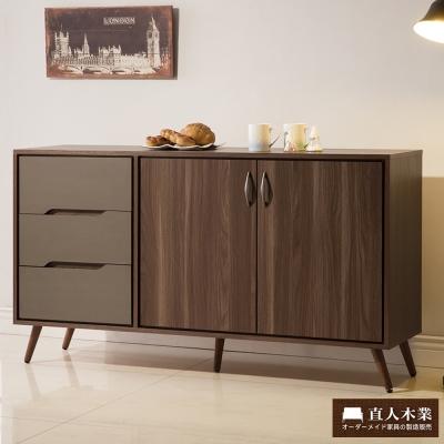 日本直人木業傢俱- Italy簡約150CM廚櫃(150x40x85cm)