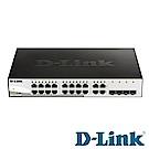 D-Link 16埠 Gigabit 智慧型網管交換器 DGS-1210-20