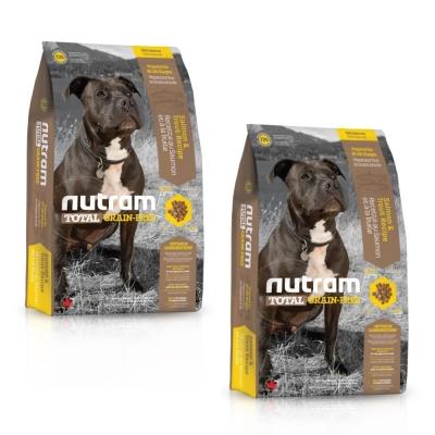 Nutram 紐頓 無穀全能-T25潔牙犬鮭魚配方2.72kg 2入