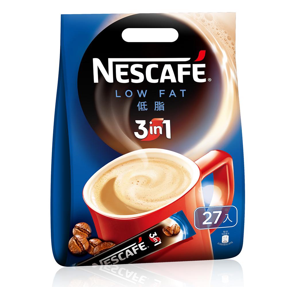 雀巢 三合一咖啡-低脂(15gx27入)