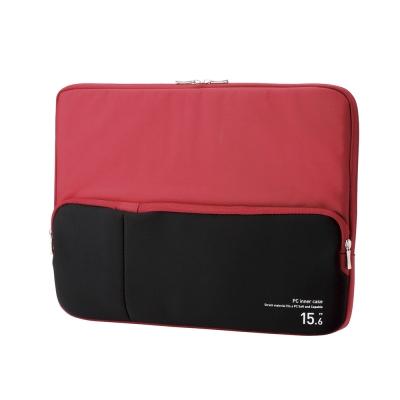 ELECOM 高質感NB筆電收納包(15.6吋)-紅