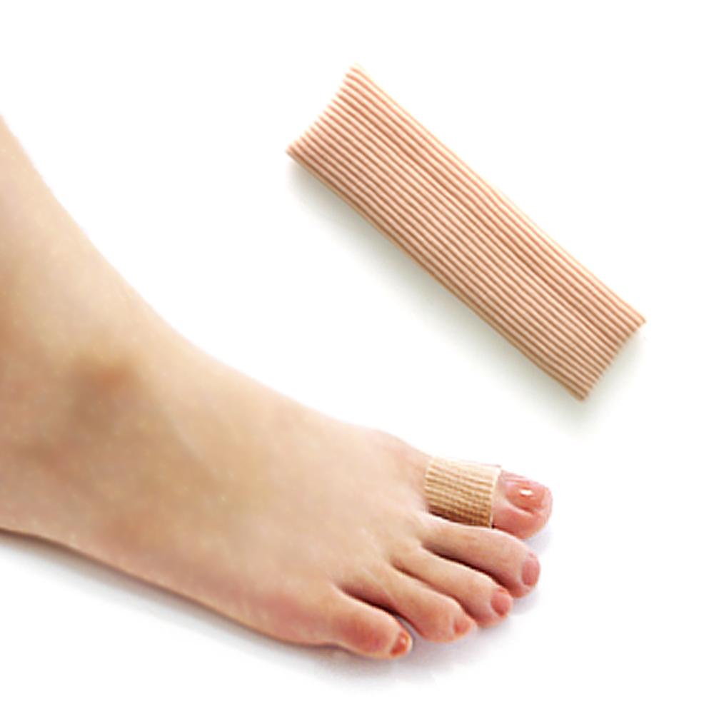 足的美形   纖維矽膠大姆指保護套(2條)