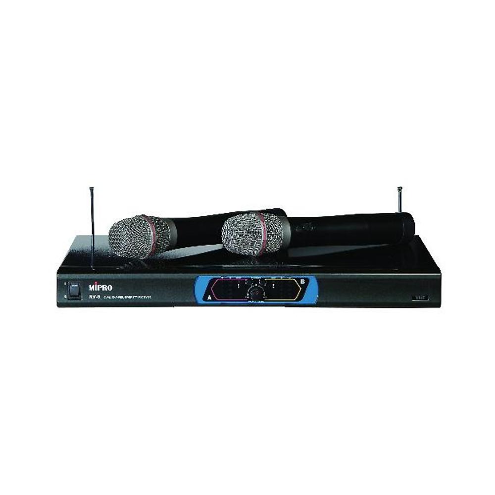 MIPRO 嘉強 專業用無線麥克風組 (RV-8)