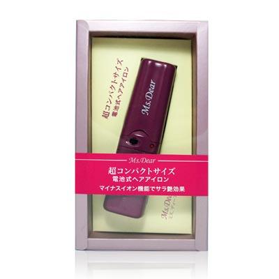 MS.DEAR 日本原裝進口_超迷你電池式整髮器(2色可選)