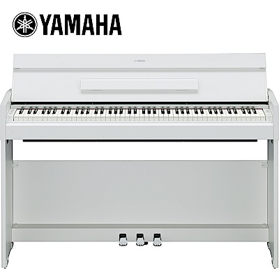 YAMAHA YDP-S52 88鍵掀蓋式數位電鋼琴 時尚白色款