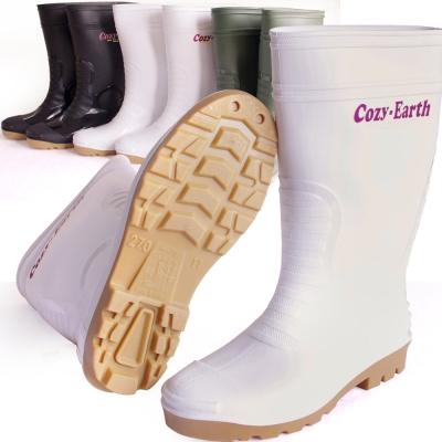 一體成型減壓雙色中筒雨鞋