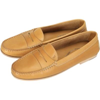 TOD'S 經典牛皮樂福鞋(棕色)