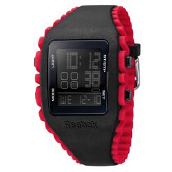 Reebok Z1G系列光速飛躍電子腕錶-紅x黑/41mmx41mm