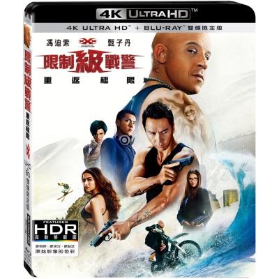 限制級戰警:重返極限 UHD+BD 雙碟限定版  藍光 BD