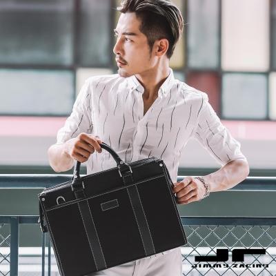 JimmyRacing未來CEO男士公文包商務手提包單肩包