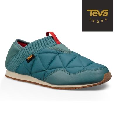 TEVA 美國-女 EmberMoc 二穿式輕量菠蘿麵包鞋 靛藍