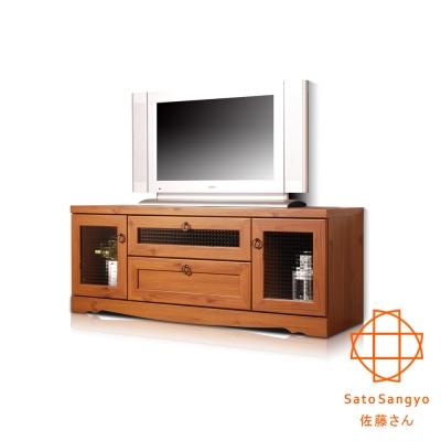 Sato - PISTRO巴黎公寓視聽電視櫃 W118xD39.5xH46cm