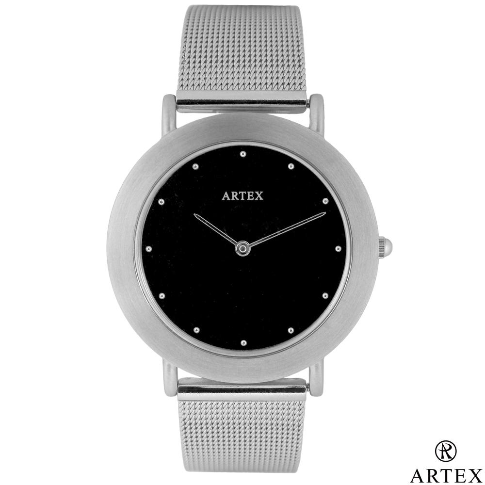 ARTEX 8204不鏽鋼手錶-米蘭錶帶/銀36mm