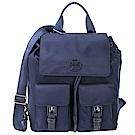 TORY BURCH QUINN 雙袋設計尼龍後背包(深藍色)