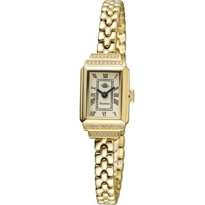 玫瑰錶 Rosemont 骨董風玫瑰系列時尚鍊錶-金/15x26mm