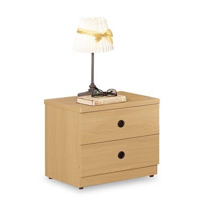 時尚屋-達拉斯二抽床頭櫃-寬48x深40x高44c