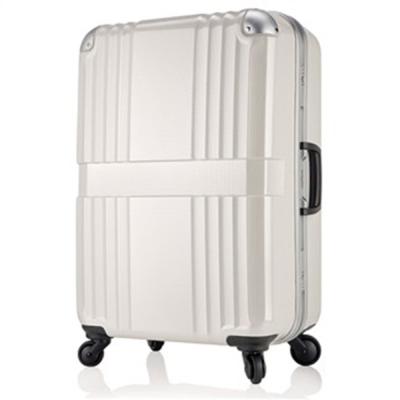 日本 LEGEND WALKER 6020-62-26吋 鋁框輕量行李箱 碳纖白
