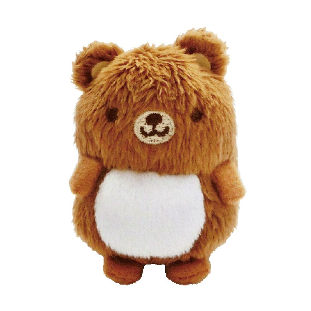(任選)UNIQUE 動物樂園沙包小公仔。小棕熊