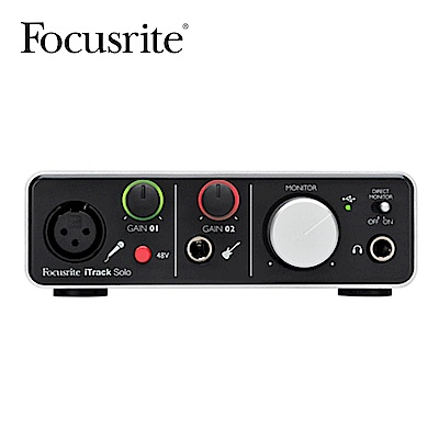 Focusrite iTrack Solo Lightening 錄音介面