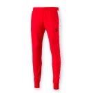 PUMA-男性流行系列爆裂紋T7長褲-紅色-亞規