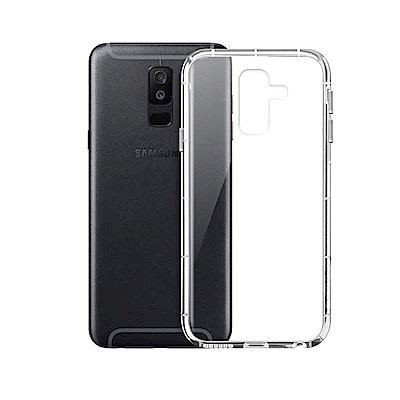 Xmart Samsung Galaxy A6+ 2018 加強四角防護防摔空壓...