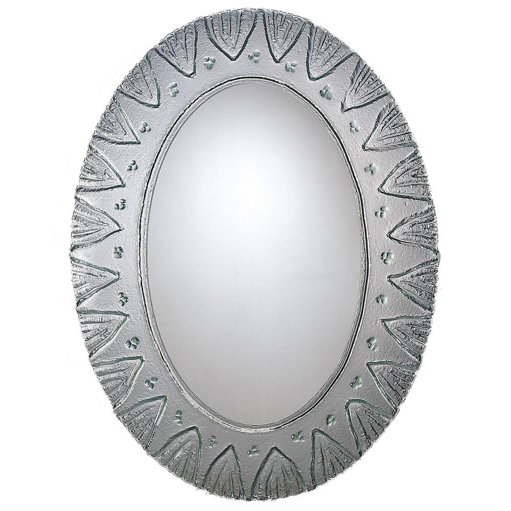 【愛麗絲仙鏡】琉璃鏡系列-水色之心窯燒鏡