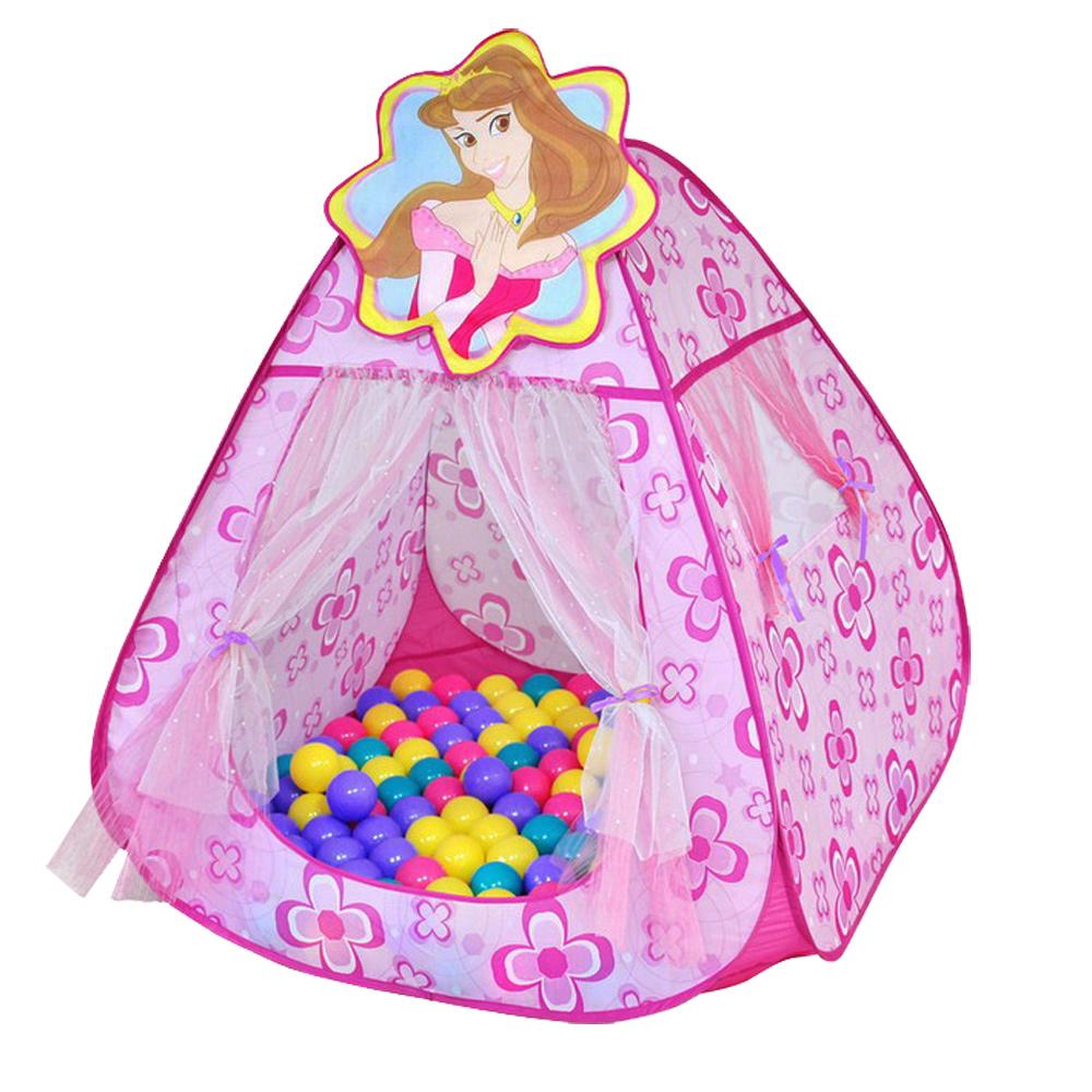 【寶貝樂】甜蜜公主帳蓬折疊遊戲球屋送100球