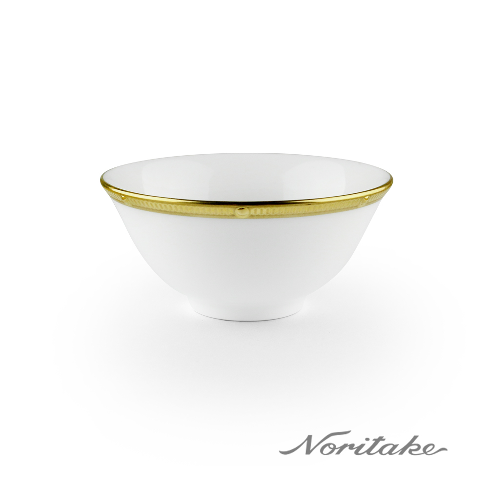 Noritake 文藝復興金邊骨磁湯碗(9.6cm)