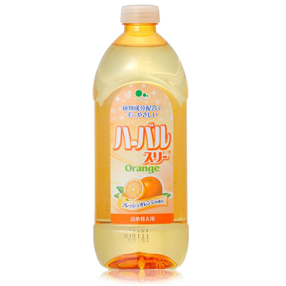 日本Mitsuei美淨易柑橘濃縮洗碗精補充瓶450ml
