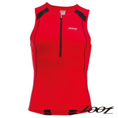 ZOOT 專業級半拉式鐵人上衣(男)Z1406020(時尚紅黑)