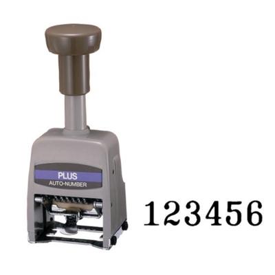 PLUS 30-891(塑膠)AD型六位號碼機
