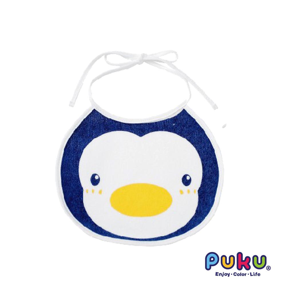 PUKU藍色企鵝 造型圍兜-0~36m適用