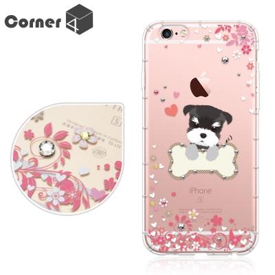Corner4 iPhone6s / 6 PLUS 5.5吋奧地利彩鑽防摔手機殼...