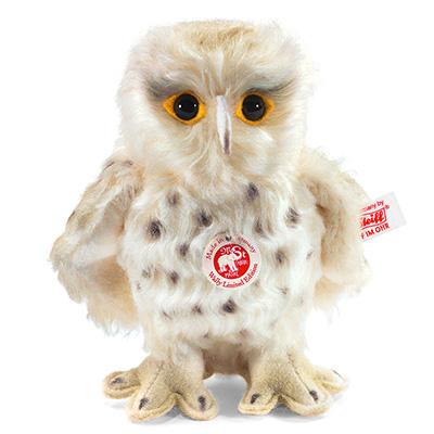STEIFF德國金耳釦泰迪熊 -  Wally Snowy Owl (14cm)