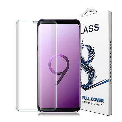 GLA Samsung Galaxy S9 Plus 3D滿版9H鋼化玻璃膜(全...
