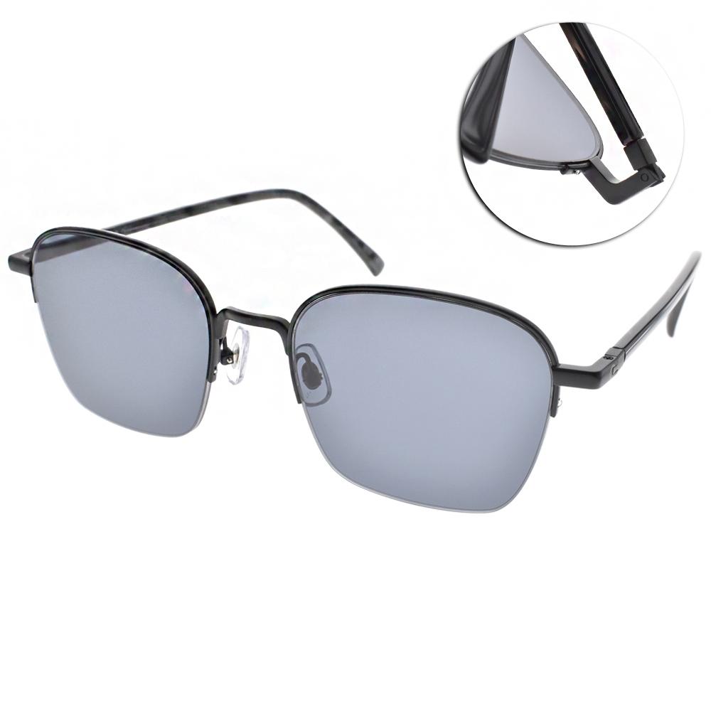 STEALER太陽眼鏡 造型半框/黑#VINCENT C01