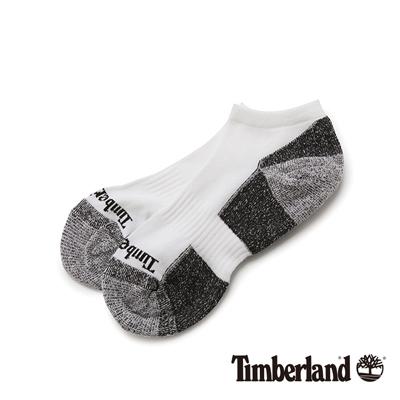 Timberland 白色排汗低筒休閒短襪(3入組)