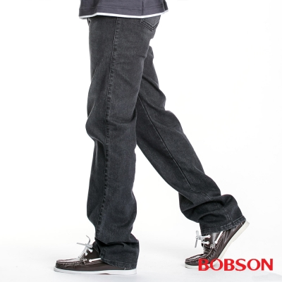 BOBSON 男款熱感IN保暖紗直筒褲