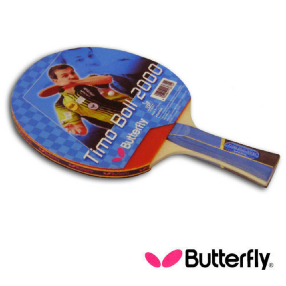 【Butterfly】貼皮負手板 TIMO BOLL 波爾2000