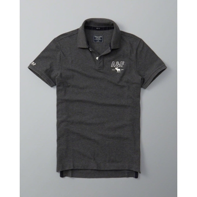 AF-a-f-Abercrombie-Fitch-短袖-POLO-灰色