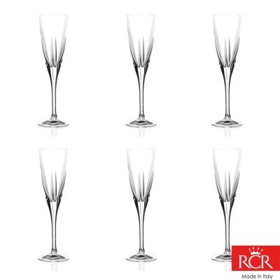 義大利RCR芙斯無鉛水晶香檳杯(6入)_170cc