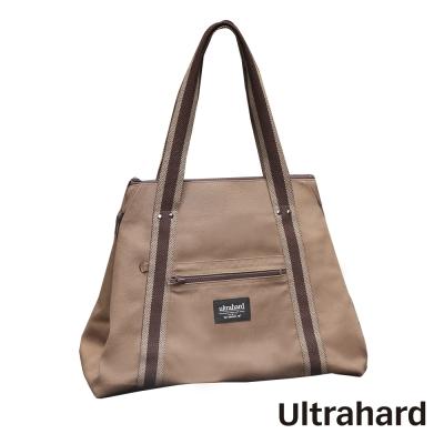 Ultrahard-閱讀作家側背包系列-雨果-棕