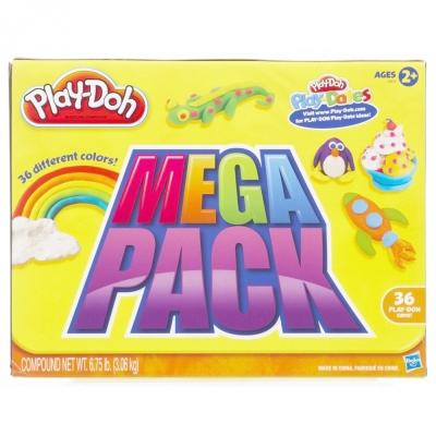 PlayDoh 培樂多 - 超級36色黏土組