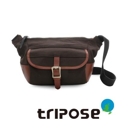 tripose STURDY系列多格層休閒肩背包 - 深咖