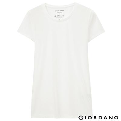 GIORDANO-女裝好感百搭圓領短袖TEE-55