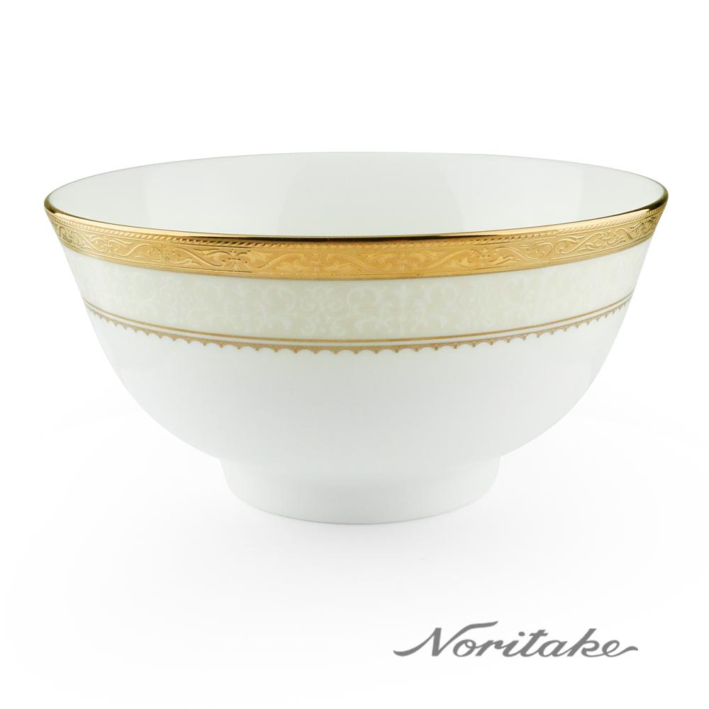 Noritake 華麗年代麵碗-金(16cm)
