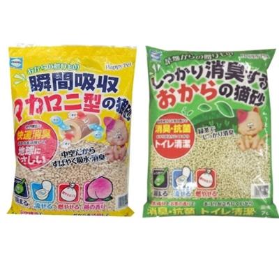 日本 貓砂樂園 豆腐貓砂系列 7L