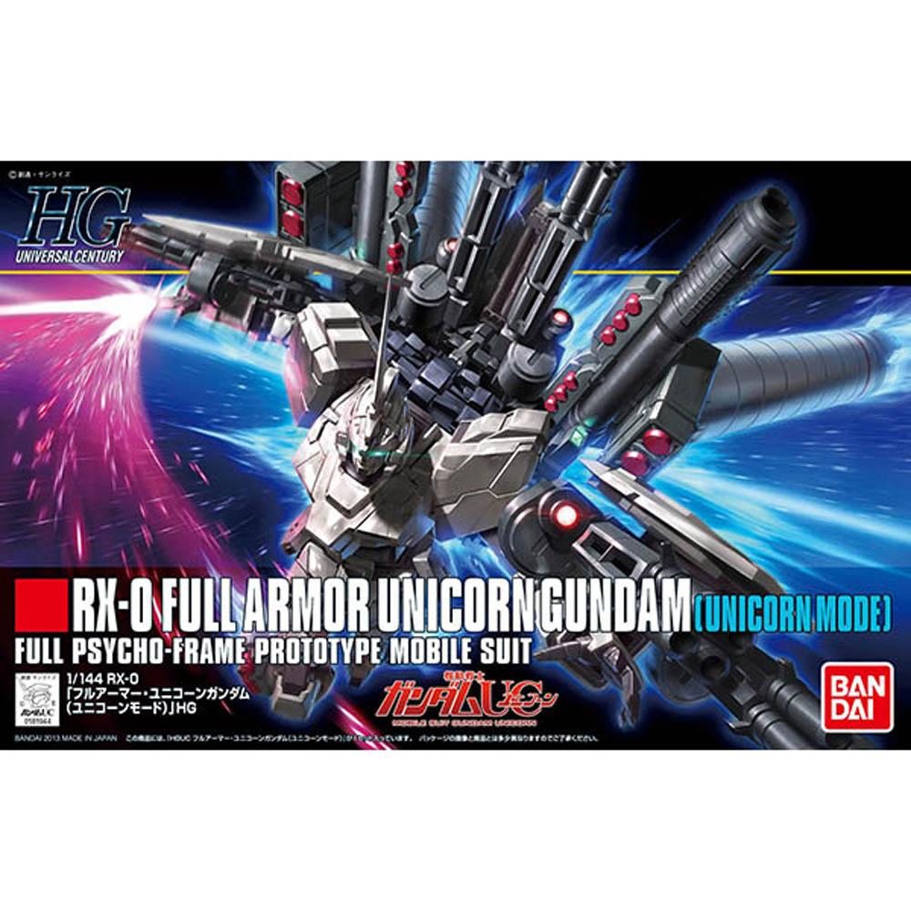 BANDAI 鋼彈UCHGUC 1/144 RX-0全裝甲型獨角獸鋼彈 156