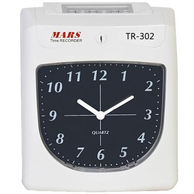 MARS TR-302 六欄位微電腦智慧型雙色打卡鐘 (升級版)