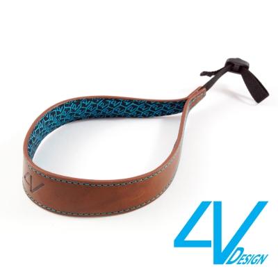 4V ERGO系列相機手環 LS01B-VV2330-棕/青色(L)